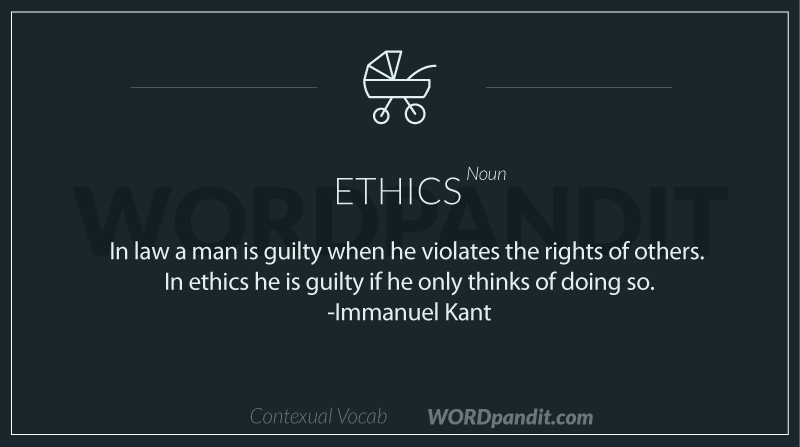 sentence-for-ethics